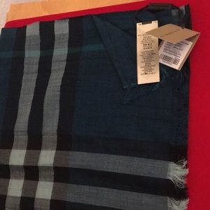 Authentic Burberry NWT Scarf From Neimann Marcus